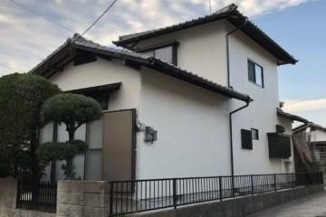 福岡市南区警弥郷のS様邸外壁塗装工事・付帯塗装工事を行いました。