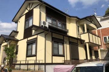 福岡県大野城市つつじヶ丘で外壁塗装・屋根塗装工事・シーリング工事を行いました。