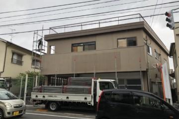 福岡県春日市紅葉ヶ丘で外壁塗装工事・付帯塗装工事を行っています。