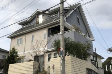 福岡県春日市春日で外壁塗装工事・屋根塗装工事・シーリング工事を行ってます。
