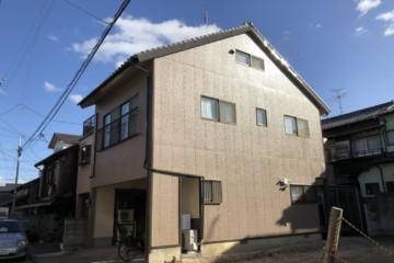 福岡県福岡市東区で外壁塗装工事・付帯塗装工事を行いました。