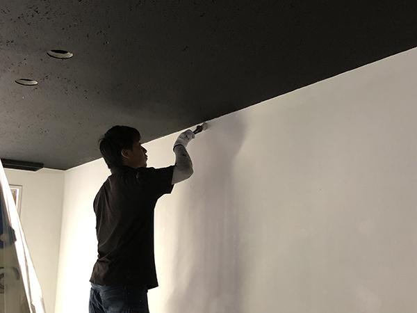 テナント内部塗装工事