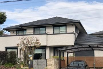 福岡県小郡市希みが丘で外壁塗装工事・バルコニー防水工事を行いました。