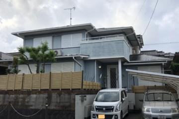 福岡県太宰府市長浦台で外壁塗装工事・屋根塗装工事・シーリング工事を行っています。