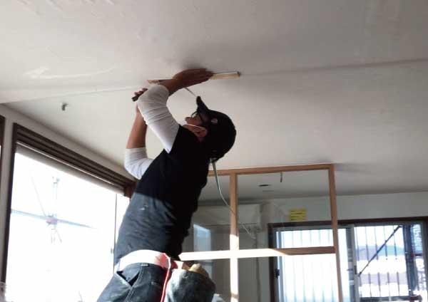 クロス天井張り工事