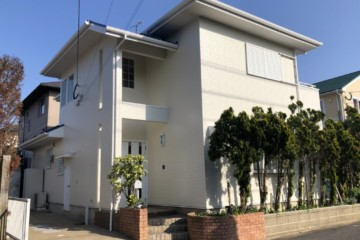 福岡県糸島市で外壁塗装工事・屋根塗装工事・ベランダ防水工事を行いました。