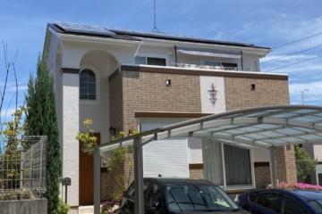 福岡県福岡市南区柏原で外壁塗装工事・屋根塗装工事・シーリング工事を行いました。