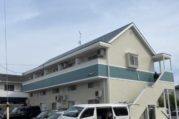 福岡県福岡市早良区次郎丸でアパート改修工事を行いました。