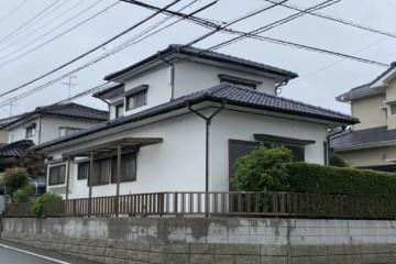 福岡県春日市平田台で外壁塗装工事・屋根塗装工事を行いました。