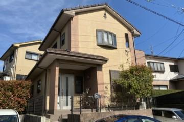 福岡県大野城市横峰で外壁塗装工事・屋根塗装工事・シーリング工事を行っています。