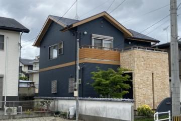 福岡県春日市小倉で外壁塗装工事・屋根塗装工事・シーリング工事を行いました。