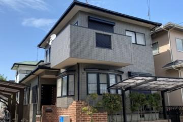 福岡県春日市一の谷で外壁塗装工事・屋根塗装工事・シーリング工事を行いました。