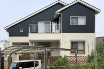 福岡県大野城市上大利で外壁塗装工事・屋根塗装工事・シーリング工事を行いました。