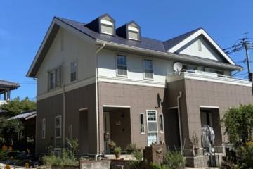 佐賀県鳥栖市で外壁塗装工事・屋根塗装工事を行いました。