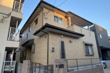 福岡県春日市光町で外壁塗装工事・屋根塗装工事・ベランダ防水工事を行いました。