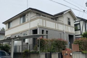 福岡県小郡市美鈴が丘で外壁塗装工事・屋根塗装工事・シーリング工事を行っています。