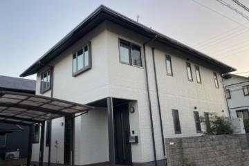 福岡県春日市塚原台で外壁塗装工事・屋根塗装工事・シーリング工事を行いました。