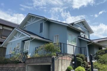 福岡県筑紫野市で外壁塗装工事・屋根塗装工事を行っています。