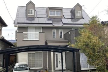 福岡県春日市松ヶ丘で外壁塗装工事・屋根塗装工事・シーリング工事を行いました。