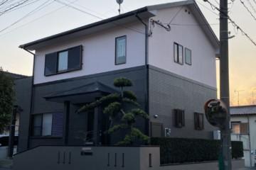 福岡県糟屋郡宇美町で外壁塗装工事・屋根塗装工事・シーリング工事を行いました。