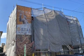 福岡県福岡市南区で外壁塗装工事・ベランダ防水工事を行っています。