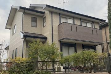 福岡県大野城市つつじヶ丘で外壁塗装工事・屋根塗装工事・屋根棟板金替え工事を行いました。