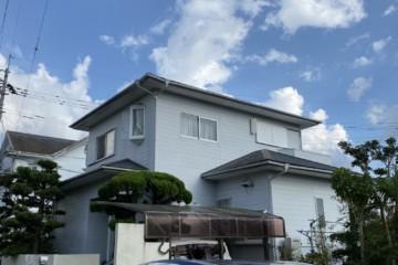 福岡県春日市紅葉ヶ丘東で外壁塗装工事・屋根塗装工事・バルコニー防水工事を行っています。