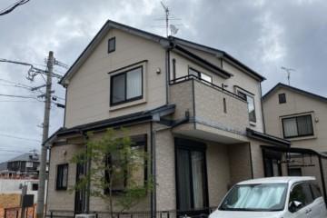 福岡県粕屋郡志免東で外壁塗装工事・屋根塗装工事・シーリング工事を行っています。