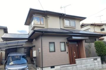 福岡県那珂川市片縄北で外壁塗装工事・屋根塗装工事・シーリング工事を行いました。