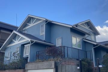 福岡県筑紫野市で外壁塗装工事・屋根塗装工事を行いました。