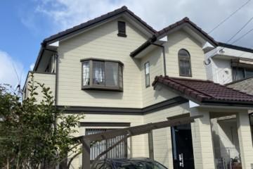福岡県福岡市早良区で外壁塗装工事・屋根塗装工事・シーリング工事を行いました。