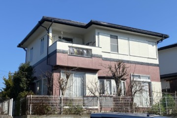 福岡県春日市塚原台で外壁塗装工事・屋根塗装工事・屋根棟瓦補修工事を行いました。