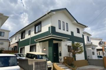 福岡県春日市原町で外壁塗装工事・屋根塗装工事を行いました。