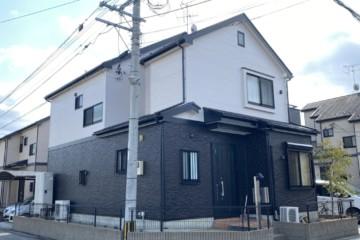 福岡県粕屋郡志免東で外壁塗装工事・屋根塗装工事・シーリング工事を行いました。