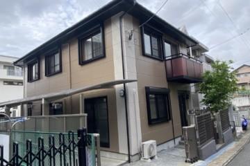 福岡県福岡市中央区で外壁塗装工事・屋根塗装工事を行いました。