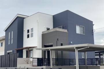福岡県鳥栖市で外壁塗装工事・屋根塗装工事・ベランダ防水工事を行いました。
