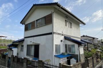 福岡県粕屋郡志免町で外壁塗装工事を行っています。
