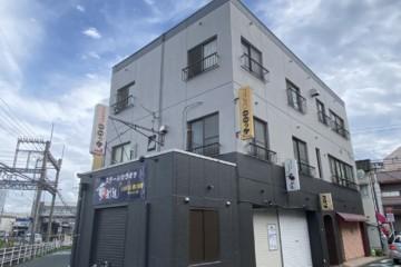 福岡県筑紫野市でビル塗装工事・防水工事を行いました。