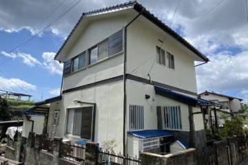 福岡県粕屋郡志免町で外壁塗装工事を行いました。