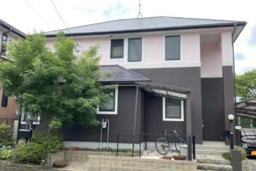 福岡県大野城市で外壁塗装工事・屋根塗装工事を行いました。