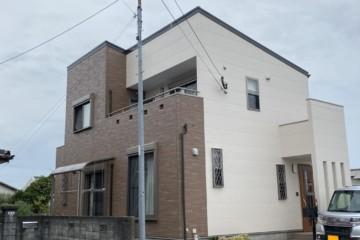 福岡県春日市紅葉ヶ丘西で外壁塗装工事・ベランダ防水工事・シーリング工事を行いました。