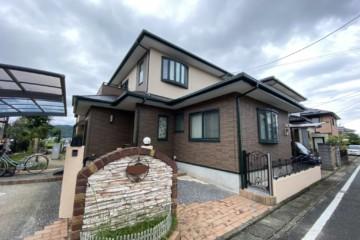 福岡県那珂川市で外壁塗装工事・屋根塗装工事を行いました。