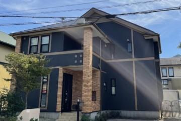 福岡県福岡市西区で外壁塗装工事・屋根塗装工事・バルコニー防水工事を行いました。