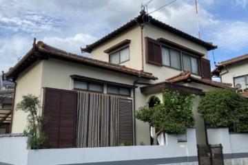 福岡県春日市上白水北で外壁塗装工事・大工工事を行っています。