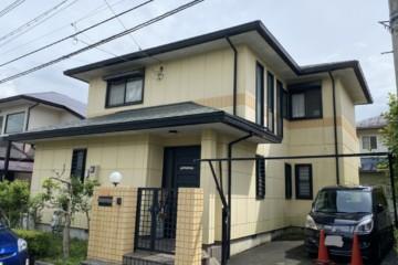 佐賀県三養基郡基山町で外壁塗装工事・屋根塗装工事を行っています。